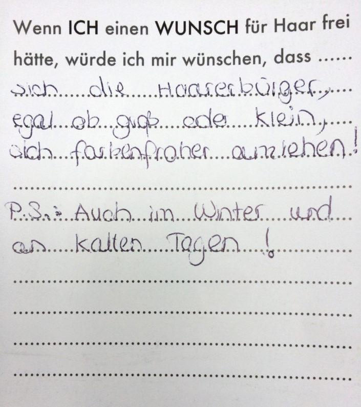 Wunsch 11