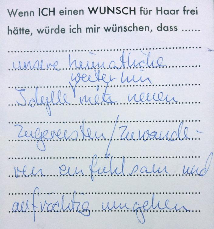 Wunsch 13