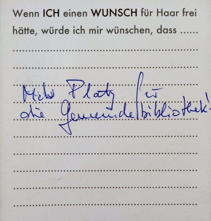 Wunsch 15