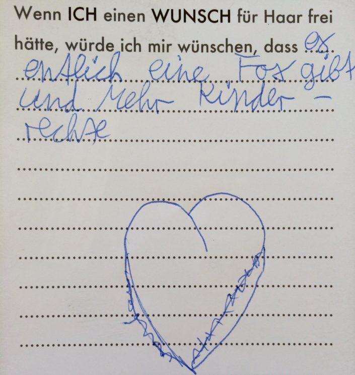 Wunsch 16