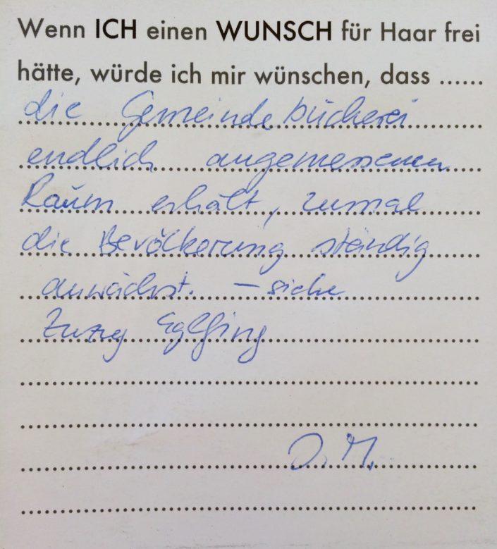 Wunsch 19