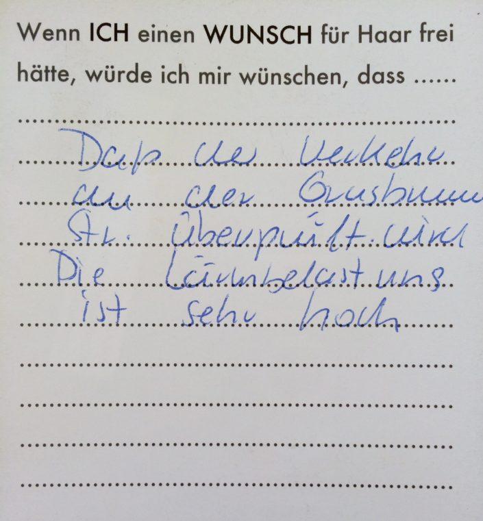 Wunsch 21