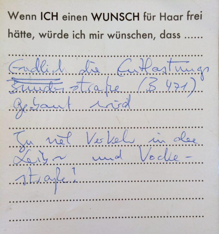 Wunsch 22