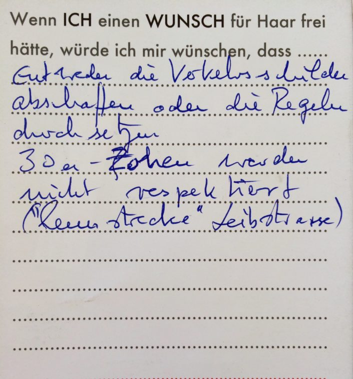Wunsch 27