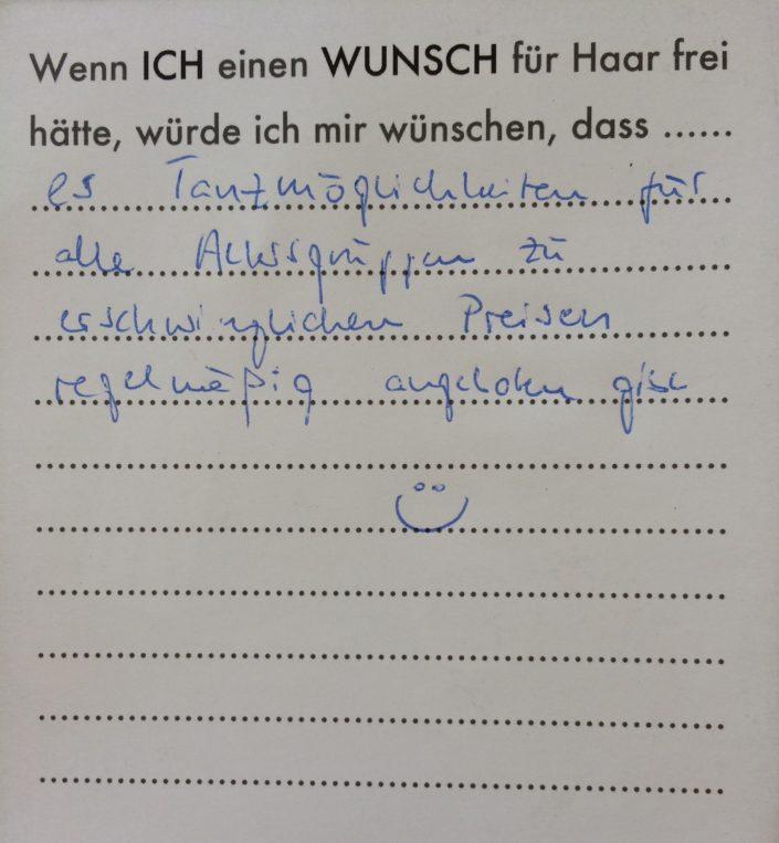 Wunsch 39