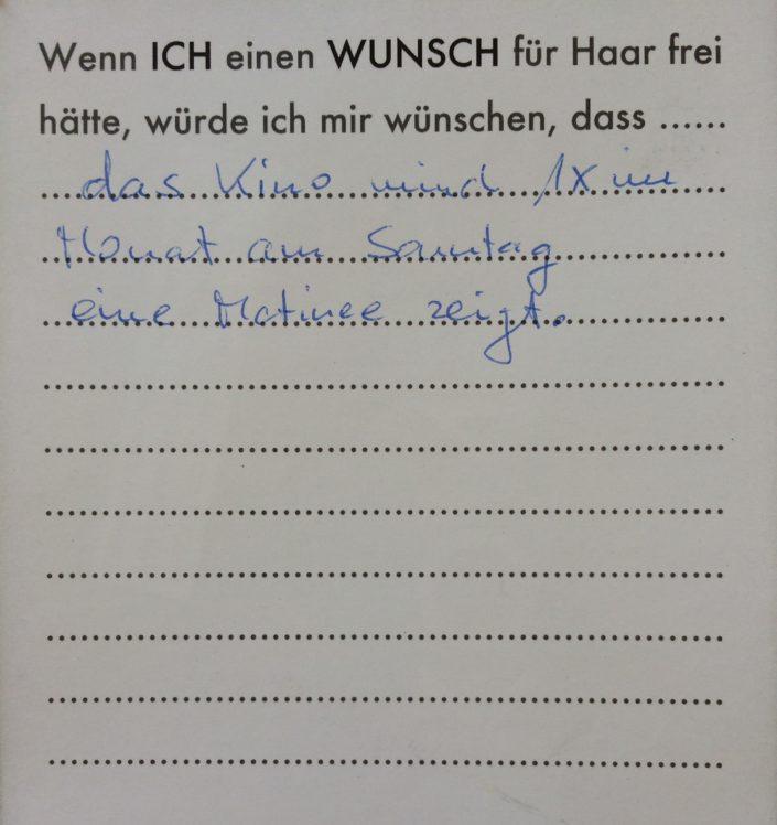 Wunsch 40