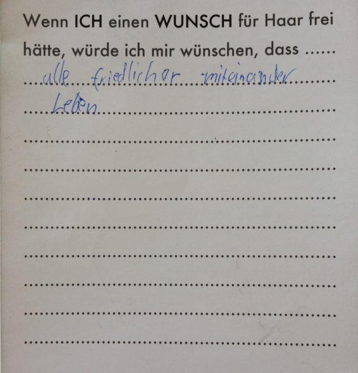 Wunsch 42